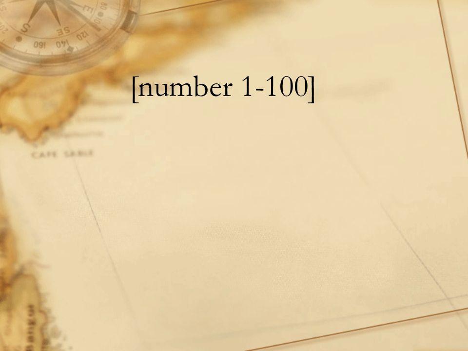[number 1-100]